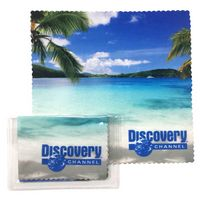 Microfiber Cloth w/Clear Pouch
