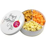 Custom Popcorn Mix 3 Way Tin
