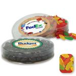 Custom Acetate Container Candy Platter Filled w/ Assorted Mini Swedish Fish