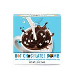 Custom Easter Hot Chocolate Bomb With Yellow Drizzle