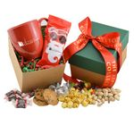 Custom Mug and Honey Roasted Peanuts Gift Box