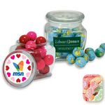Custom Reusable Glass Spice Jar Filled w/ Sour Patch Kids