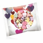 Custom 2oz. Full Color DigiBag with Imprinted Conversation Hearts