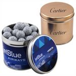 Custom Round Tin w/Chocolate Golf Balls