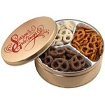 Custom Pretzel Mix 3 Way Tin