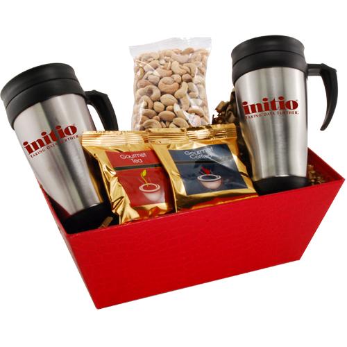Tray w/Mugs and Cashews