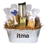 Custom Warm & Cozy Gift Tub