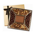 Custom Custom Confection Gift Box w/Molded Chocolate Centerpiece
