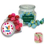Custom Reusable Glass Spice Jar Filled w/ Sour Patch Green Rind Watermelon