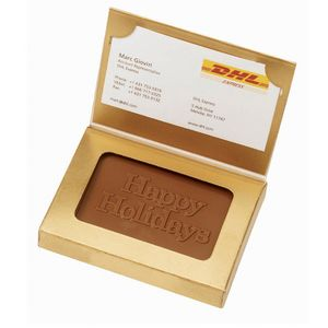 Custom Printed Business Card Chocolates Boxes