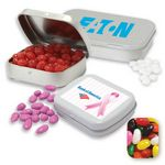 Custom Pocket Tin Small- Assorted Jelly Beans Candy by Color
