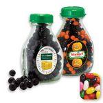 Custom Milk Pint Glass Bottle Filled w/ Assorted Jelly Beans