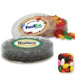 Custom Acetate Container Candy Platter Filled w/ Assorted Jelly Beans