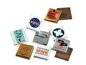 Custom Printed Foil Wrapper Chocolates