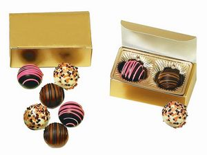 Custom Printed Chocolate Centerpiece Gift Box Wedding Favors
