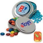 Custom Circular Window Tin- Mike & Ike's Candy by Color