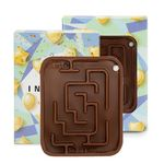 Custom Milk Chocolate Molded Maze w/Custom Box