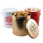 Custom 1 Gallon Gift Tin w/Cookies