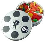 Custom Movie Reel Tin- Confections