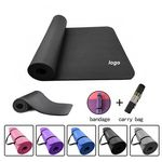 Custom Easily Coveyable Yoga Mat And Carrying Strap