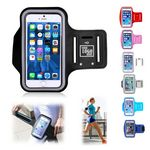 Cellphone Armband with Adjustable Strap