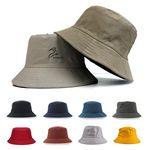 Outdoor Sun Protection Cotton Twill Fisherman Bucket Hat