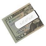 Custom Elongated Money Clip