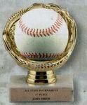 Custom Softball Sports Ball Display (4 1/2