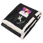 Custom Field & Co. Sherpa Blanket w/Full Color Card