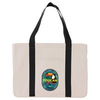 Large 20 oz. Cotton Canvas Utility Tote