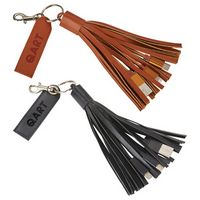 Tassel 3-in-1 Fabric Charging Cable