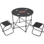 Custom Game Day Table and Chairs Set