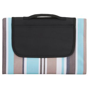 Oversized Striped Picnic and Beach Blanket