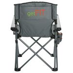 Custom High Sierra Deluxe Camping Chair (300lb Capacity)