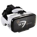 Custom Virtual Reality Headset with Headphones