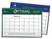 Small Desk/Wall Calendar w/ Vinyl Cover