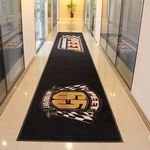 Custom Logo Mat 6X12 (ft) In/Outdoor Commercial Use with Anti-Slip Feature
