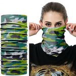 Sublimated Face Bandana Mask Full Color Neck Gaiter