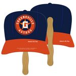 Baseball Cap Hand Fan Full Color (2 Sides)