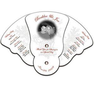 Custom Imprinted Wedding Fans