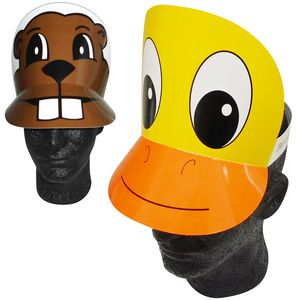 Pre-Printed Duck  Beaver  Pig Headband - 99131 - IdeaStage Promotional  Products caa48e8364a