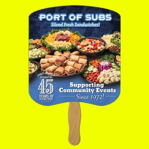 Bread Slice Quantity Hand Fan