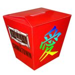Custom Chinese Take-Out Style Box Full Color