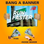 Offset Printed Bang A Banner (11