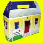 Custom House Shaped Donut Box