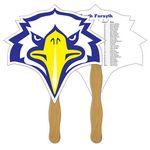 Custom Bird Hand Fan Full Color (2 Sides)