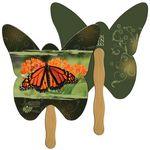 Custom Butterfly Hand Fan Full Color (2 Sides)
