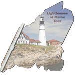 Custom Maine State Digital Memo Board