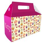Custom House Shaped Donut/Gable Box