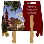 Custom Alabama State Fast Hand Fan (2 Sides) 1 Day